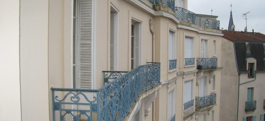 F2, vue dominante, balcon
