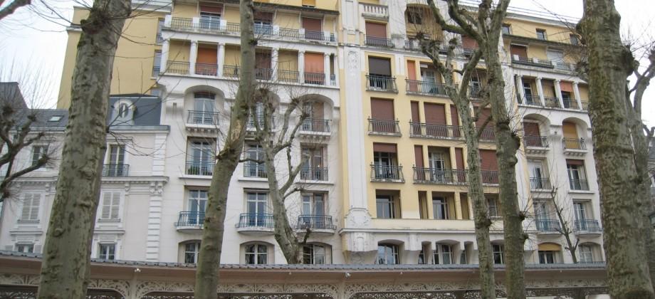 Appartement «Le Carlton», 81m² et emplacement de parking