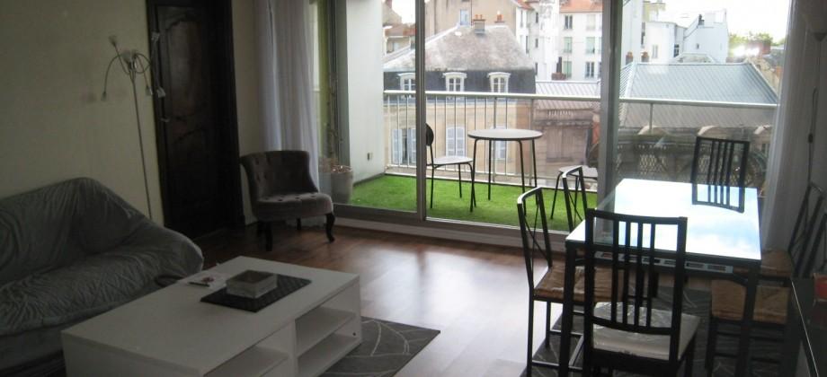 Coeur quartier Thermal, terrasse, parking