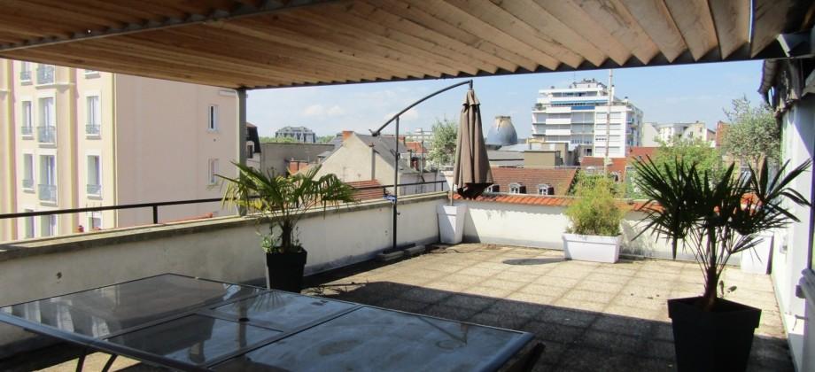 F4 de 170m² avec superbe terrasse