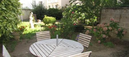 Grand appartement, jardin, garage