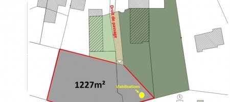 Superbe terrain Bellerive 38€/m²