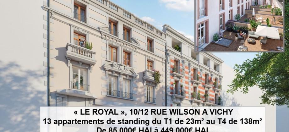 Commercialisation programme «Le Royal»